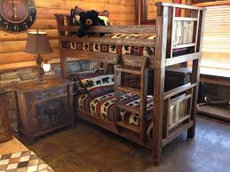 Log Bunk Bed Plans Rustic Bunk Beds Western Mounting Rustic Bunk Beds