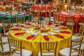 Indian Wedding Chairs For Bride And Groom Indian Wedding With Vibrant Colors And Gorgeous Red Roses Inside