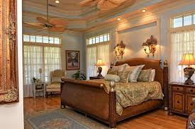Fleur De Lis Wall Sconce Traditional Master Bedroom With Wall Sconce U0026 Hardwood Floors In