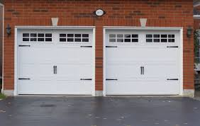how wide is a 2 car garage door