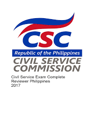 civil service exam complete reviewer philippines 2017 fraction