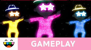 and glow sparkle and glow in your toca gameplay
