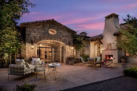 french country estate french country estate mediterranean patio phoenix by