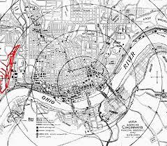 Map Of Cincinnati Geologic Hazards Of Cincinnati