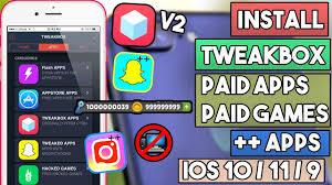 new install tweakbox v2 u0026 get paid apps games apps u0026 more no
