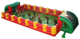 human foosball inflatable game acp entertainment youtube