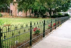 popular wrought iron fence panels u2013 outdoor decorations