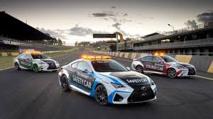 lexus rc model year changes lexus rc f safety car unveiled for v8 supercars