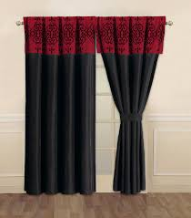 top red black and white bedroom curtains 45 in home decor