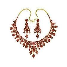 gold necklace ruby images Karat gold ruby necklace set select jewels manufacturer jpg