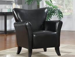 Black Leather Accent Chair Ash Black Fabric Accent Chair Caravana Furniture