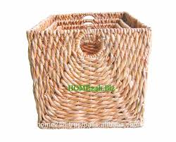 home basket vietnam crafts wholesale log chunky baskets water