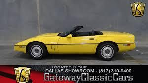 lexus dallas for sale 1987 chevrolet corvette gateway classic cars 152