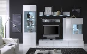 awesome white gloss living room cabinets gallery awesome design