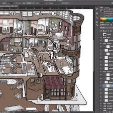floorplan for my house making the h h holmes murder castle u2014 carden illustration
