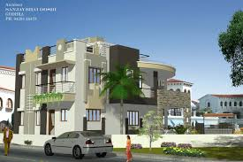 home design 3d elevation rachana architect