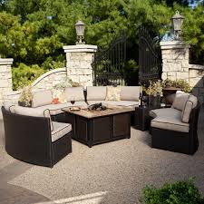 Patio Dining Sets With Fire Pits by Patio Furniture Conversation Sets With Fire Pit Patio Decoration