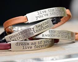 inspirational pendants motivational jewelry etsy