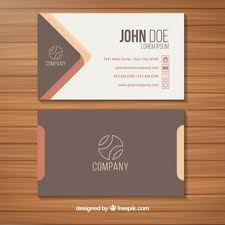 back of business cards business card template vector free