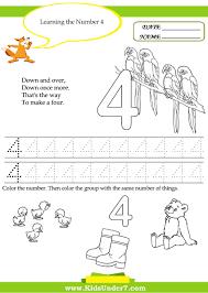 Number 2 Worksheet Free Printable Kindergarten Worksheet Kids Under 7 Number
