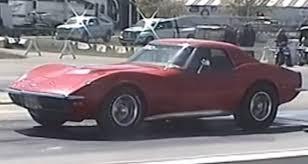 c3 corvette drag car sleeper c3 corvette tears up drag gt speed