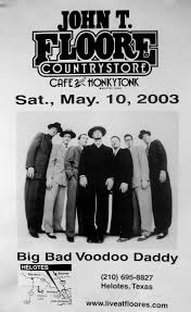 Floores Country Store Tickets by Poster Gallery U2014 Big Bad Voodoo Daddy