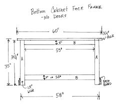 kitchen cabinet face frame dimensions cabinet face frame dimensions okeviewdesign co
