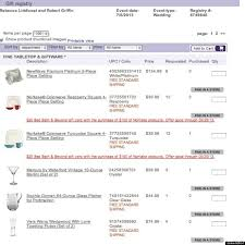 wedding registration list bed bath and beyond wedding registry list tbrb info