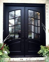Front Doors With Glass Side Panels Lovable Double Entrance Doors With Glass White Double Front Doors