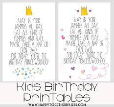 happy birthday nieces free kids birthday printable