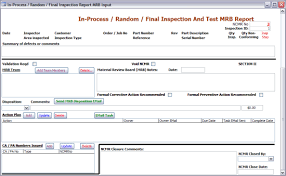 non conformance report form template non conforming nonconforming material database software ncmr