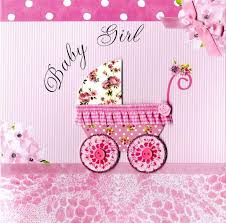baby cards second nature new baby girl keepsake card cards kates