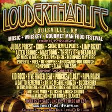 monster truck show louisville ky louder than life festival lineup announced rockrevolt mag