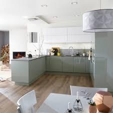 leroy merlin cuisine cuisine verte nos plus beaux modèles kitchens cuisine and interiors