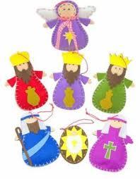 felt nativity set pattern pinteres