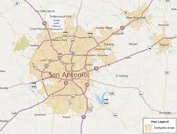 Zip Code Map San Jose by Map Of San Antonio State Map Of Usa United States Maps