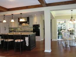 Rustic Hickory Kitchen Cabinets by Custom Kitchen Soft Rustic Hickory Kitchen Cabinets With