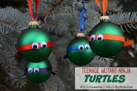 mutant turtles ornament diy ornaments