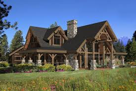 ranch style log home floor plans modern log home floor plans mywoodhome com pc hawksbury traintoball