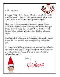 Letter Shelf Elf On The Shelf Letter How To Format A Cover Letter