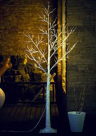 amazon com fashionlite 6ft 96 led light winter birch xmas