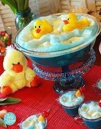 duck baby shower ideas rubber duck baby shower punch recipe tutorial