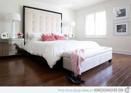 Simple White Bed Frame 15 Simple Bedrooms With White Beds Home Design Lover