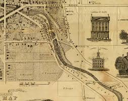 Nys Map Portion Of 1837 Map Of Auburn Ny