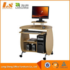 Small Desk Ls Small Compact Desktop Computer Table With Wheels Buy Compact