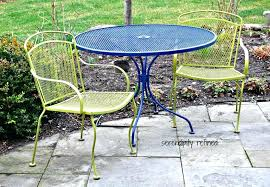 Outdoor Metal Patio Furniture Metal Patio Chair Clean Your Outdoor Furniture Groomed Home