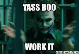 Yasssss Meme - generate a meme using clapping joker find make share gfycat gifs