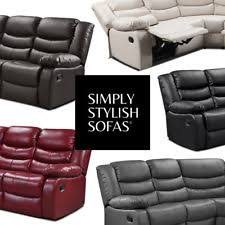 Leather Recliner Corner Sofa Recliner Corner Sofa Ebay
