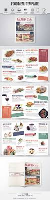 pages menu template 71 best menu design images on advertising design