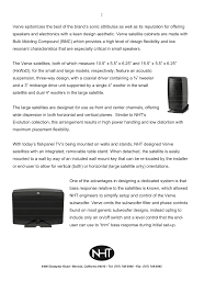 nht home theater speakers pdf manual for nht home theater power5
